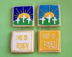 christian easter cookies | Easter Cookies, Religious Easter Cookies - 1 Dozen