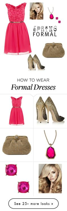 """Prom night"" by sandibiggerstaff on Polyvore featuring Laced In Love, Jimmy Choo, La Regale, Urban Posh and Natasha Accessories"