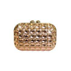 Handbag / Anna Cecere / Gioello Jewel Clutch - Pink
