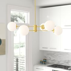 Chandeliers You'll Love in 2020 Rectangle Chandelier, Linear Chandelier, Sputnik Chandelier, Chandelier Shades, Chandeliers, White Chandelier, Pendant Lighting, Lustre Globe, Dining Room Lighting