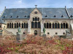 Kaiserpfalz in Goslar als Miniaturbauwerk.