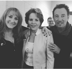 Bruce and Patti with opera singer Renee Fleming.