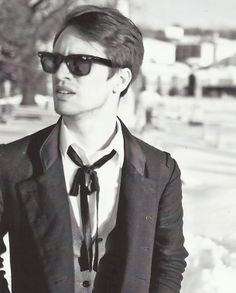 Brendon Urie - panic! At the disco - this guy has one of the most attractive voices I've ever heard
