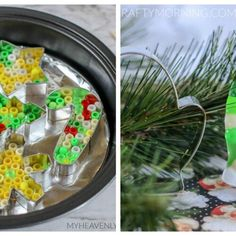 Christmas/Winter Egg Carton Crafts for Kids - Crafty Morning Valentine Crafts For Kids, Valentine Wreath, Crafts For Kids To Make, Valentines, Cheesy Bread Recipe, Christmas Crafts, Christmas Decorations, Christmas Tree, Oven Cleaning