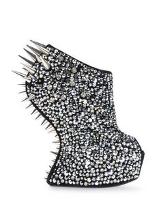 eff6c0c93eee gorgeous edgy spiked Gieseppe Zanotti heeless shoes Dream Shoes