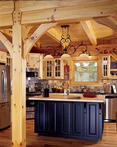 22 Budget - Saving Ideas for Kitchens  www.timberhomeliving.com