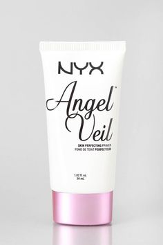 NYX Angel Veil Skin Perfecting Primer. This is an amazing primer for slippery oily skin that makeup usually just falls off of.