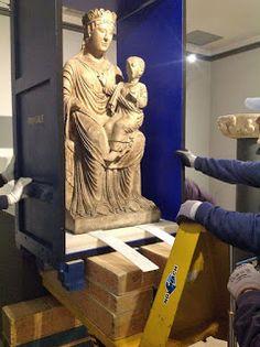 Fidenza: La Maestà mariana (Madonna col Bambino), attribuit...