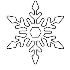 Gallery of free printable snowflake templates large small stencil patterns - snowflake stencil Snowflake Stencil, Snowflake Template, Snowflake Pattern, Snowflake Printables, Christmas Printables, Free Printables, Printable Templates, Free Printable Stencils, Printable Christmas Templates