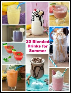 You'll love my collection of frozen drink recipes - from coffee beverages and fruit smoothies, to boozy drinks.  It's all here!