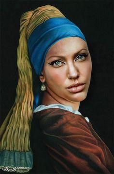 Modern Renaissance 18 - Worth1000 Contests.  Angie