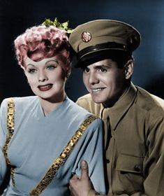 Lucy & Desi - WW II