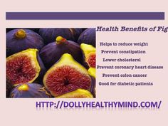 Fig Fruit Nutrition facts and Health Benefits - Healthy Mind -