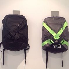 The distinctive X-straps put a stylish @Y-3 twist on the sleek shape of the FS Backpack. #adidas #Y3