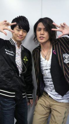 Mamoru Miyano and Jun Fukuyama <3 Nothing can defeat their deadly fangirl killing wave of beauty and sexiness! <3
