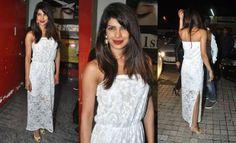 Terrible look. Priyanka Chopra