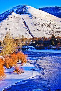 Mount Sentinel_winter_Missoula