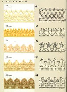 SOLO PUNTOS: Crochet Bordes