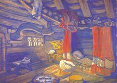 Oze's hut - Nikolái Roerich