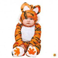 Baby Kostüm Tiger Ted, Overall Raubtier kaufen