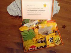 Sunshine box Cadeau de prof, fin d'année scolaire Drinks, End Of School Year, Gift, Drinking, Beverages, Drink, Beverage, Cocktails