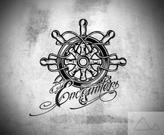 boat wheel elbow tattoo - Google Search