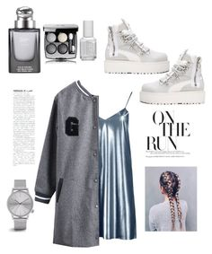 """""""Untitled #15"""" by queenofstyle96 on Polyvore featuring Boohoo, WithChic, Puma, Gucci, Essie, Chanel, Komono and PlatformBoots"""