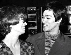 Bruce Lee And Wife, Linda Lee.
