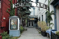 Upstate Films in Rhinebeck, NY, in the Hudson Valley.