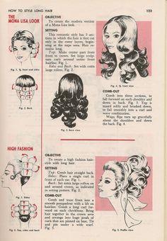 Retro hair Tutorial Di Acconciature D epoca 8e7a0b495e3