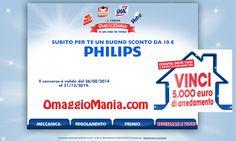 Vinci 5.000 euro di arredamento e ricevi buono sconto Philips da 10 euro - http://www.omaggiomania.com/concorsi-a-premi/vinci-5-000-euro-arredamento/