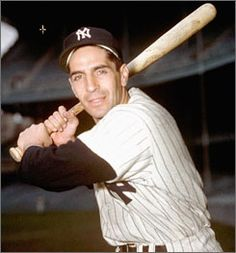Phil Rizzuto poses in 1950, the year he was named American League MVP.