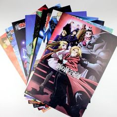 8-Piece Every-Anime Poster Packs