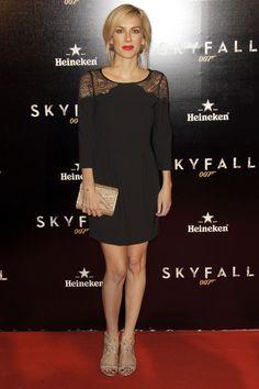 Kira Miró en el estreno de 'Skyfall' en Madrid