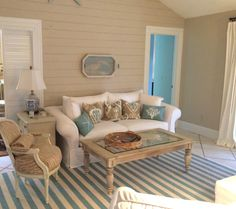 Cottage Living Room with limestone tile floors, High ceiling, Carpet, SW Latte