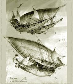3M Airships 4+5 by Bartoleum.deviantart.com