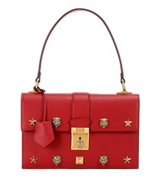 mytheresa.com - Cat Lock leather handbag - Luxury Fashion for Women / Designer clothing, shoes, bags