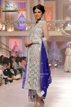 Pakistani couture dress by asifa and nabeel. bridal couture week 2015