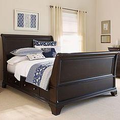 Bedroom Set, Brentwood Platform Bed or Sleigh Bed - pretty!!! Love!!