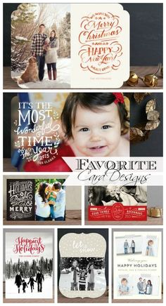 Get Organized for Christmas: Christmas Cards - Clean & Scentsible Christmas Card Pictures, Beautiful Christmas Cards, Family Christmas Cards, Xmas Cards, Holiday Cards, Christmas Christmas, Christmas Typography, Christmas Stationery, Christmas Photography