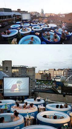 Hot Tub Cinema...
