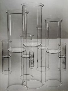 advertising photo for Jenaer Glas by albert Renger-Patzsch. 1936