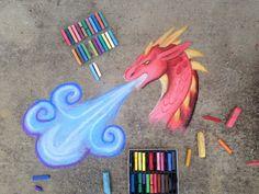 Chalk art- blue breather by CrystalCircle.dev… on Chalk art- blue breather by CrystalCircle. Easy Chalk Drawings, Art Drawings, Kunst Inspo, Art Inspo, Chalk Photos, Deviantart, Art Tumblr, Chalk Design, Art Disney