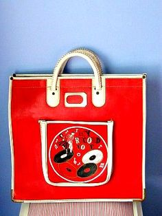 Vintage LP Record Carry Case 1950s by passagesvintage on Etsy, $40.00