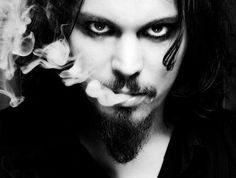 Magazine's rock photographer Paul Harries on Ville Valo by Lady~A! Ville Valo, Gothic Rock, Him Band, Paranormal Romance, Beautiful Person, Johnny Depp, Metal Bands, Professional Photographer, Eye Candy