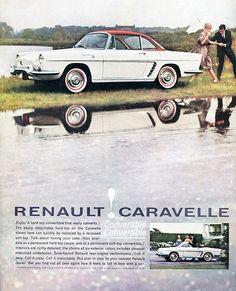 1960 Renault Caravelle Advertising Sports Car Illustrated December 1960 | Flickr - Photo Sharing!