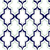 Lg White Tangier Lattice fabric by cglosch on Spoonflower - custom fabric Blue And Orange Living Room, Passementerie, Home Decor Fabric, Navy And Green, Custom Fabric, Print Patterns, Fabric Patterns, Spoonflower, Color Inspiration