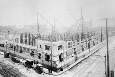 West Side Market construction early 1900's