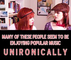 """Many of these people seem to be enjoying popular music unironically."" - #lizziebennetdiaries #darcy #lizzie"