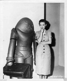Vintage Photography / Retro Futurism / Robot / Space Man / Alien / Atomic Age )
